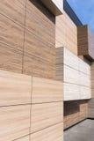 Modern arkitekturfasaddetalj Royaltyfri Foto