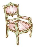 Modern arm chair Royalty Free Stock Image