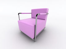 Modern armchair Royalty Free Stock Photo