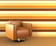 Modern armchair. Stock Images