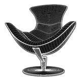 Modern Armchair Vector Royalty Free Stock Photos