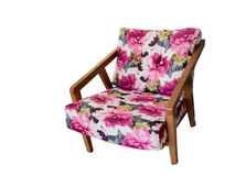 Modern armchair Royalty Free Stock Images
