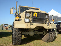 Modern army truck Stock Image