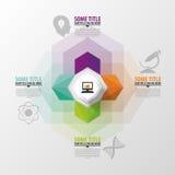 Modern arrow options banner. Infographics. Vector illustration Stock Photo