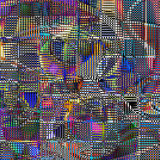 Modern art abstract. Of color Royalty Free Stock Photography