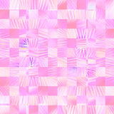 Modern art abstract colorful light cube pink background. Modern art abstract colorful light pink cube ,mosaic wallpaper background stock illustration