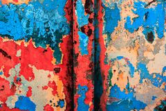 Modern art, abstract painting with oil paints Royalty Free Stock Image