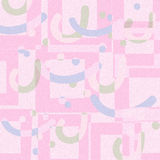 Modern art abstract pink soft color  geometric shape background. Design Stock Photography