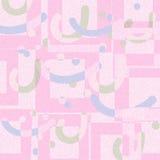 Modern art abstract pink soft color geometric shape background. Design vector illustration