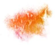 Modern art avant-guard texture pink, orange Stock Images