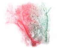 Modern art avant-guard texture red, green Royalty Free Stock Photo