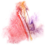Modern art avant-guard texture red, violet, orange Royalty Free Stock Images