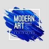 Modern Art Banner Stock Image