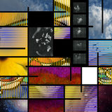Modern Art based Abstract Royalty Free Stock Photography