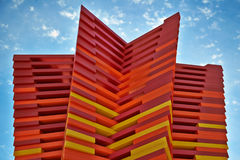 Modern Art - Bloch Cancer Survivors Park Royalty Free Stock Photo