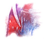 Modern art  blue, red, violet avant-guard Stock Photo