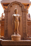 Modern art of Buddha statue Royalty Free Stock Photography