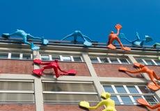 Modern art on building Royalty Free Stock Photo