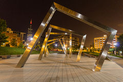 Modern Art in Chicago- Frames Royalty Free Stock Images