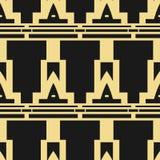 Modern Art Deco background royalty free illustration