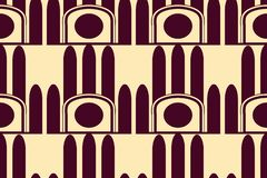 Modern Art Deco bakgrund vektor illustrationer