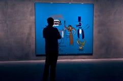 Modern Art exposicion Stock Photography
