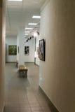 Modern Art Gallery Interior Royalty Free Stock Photography