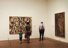 Modern art gallery Royalty Free Stock Photo