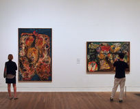 Modern art gallery Royalty Free Stock Images