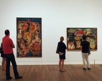 Modern art gallery Stock Photography