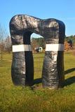 Modern art in Gdansk. Modern art in the seashore park in Gdansk-Przymorze, Poland Royalty Free Stock Photos