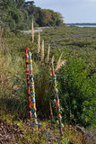 Modern Art on The Hobson Bay Walkway, Remuera, Auckland Stock Photo