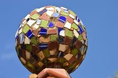 Modern art mosaic sphere Royalty Free Stock Photo