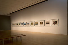 Modern Art Museum of Fort Worth interior Stock Photography