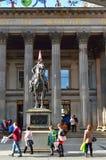 Modern art museum Glasgow, Scotland, UK Stock Images