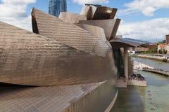 Modern art museum Guggenheim Bilbao Stock Images