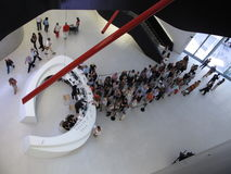 Modern Art Museum queue Stock Photos