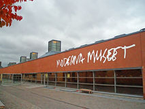 The Modern Art Museum in Stockholm. Sweden Stock Photo