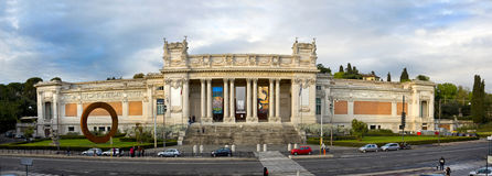 Modern Art National Museum in Rome Italy Royalty Free Stock Image