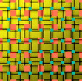Modern art pattern Stock Images