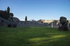 Modern art in Pompeii Stock Photos