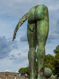Modern art in Pompeii Royalty Free Stock Image