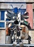 Modern art sculpture Royalty Free Stock Photo