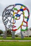 Modern Art sculptures at Convention Center Park San Diego - CALIFORNIA, USA - MARCH 18, 2019. Modern Art sculptures at Convention Center Park San Diego royalty free stock photo
