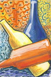 Modern art 1 stock illustration