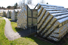 Modern art studios located on Aberystwyth University Campus Stock Image