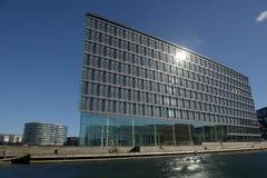 Modern Artitecture Köpenhamn Arkivfoto