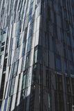 Modern artsy tall architecture piece royalty free stock photos