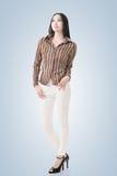 Modern Asian woman Stock Photos