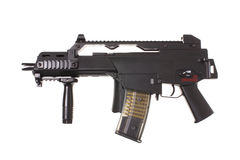Modern assault rifle Stock Photos